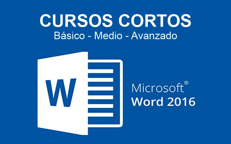 curso corto word